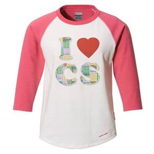 Columbia(コロンビア) ウィメンズ ラビンCSC 3/4Tシャツ M 671(Hot Blush)