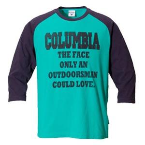 Columbia(コロンビア) アウトドアズマンラバー3/4Tシャツ S 390(Tahiti)