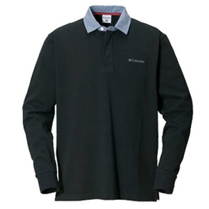 Columbia(コロンビア) オークヒルラグビーシャツ XL 010(Black)