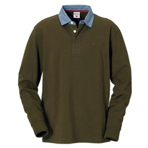 Columbia(コロンビア) オークヒルラグビーシャツ M 319(Olive Green)