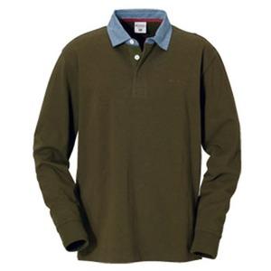 Columbia(コロンビア) オークヒルラグビーシャツ XL 319(Olive Green)