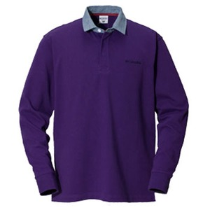 Columbia(コロンビア) オークヒルラグビーシャツ M 559(UW Purple)