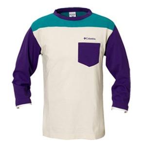Columbia(コロンビア) ワトソン3/4Tシャツ L 559(UW Purple)