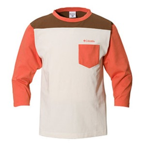 Columbia(コロンビア) ワトソン3/4Tシャツ S 889(Sweet Orange)