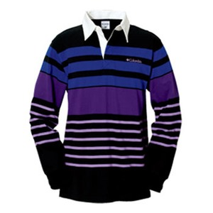 Columbia(コロンビア) ノーウェアラグビーシャツ M 010(Black)