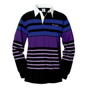 Columbia(コロンビア) ノーウェアラグビーシャツ XS 010(Black)