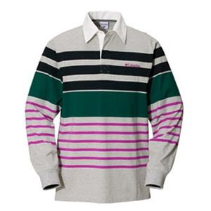 Columbia(コロンビア) ノーウェアラグビーシャツ L 072(Grey Heather)