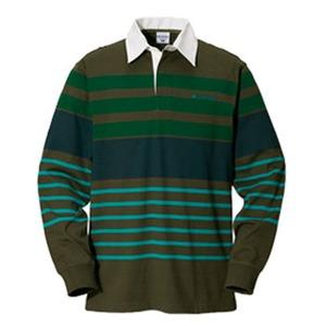 Columbia(コロンビア) ノーウェアラグビーシャツ L 319(Olive Green)