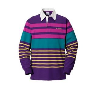 Columbia(コロンビア) ノーウェアラグビーシャツ M 559(UW Purple)