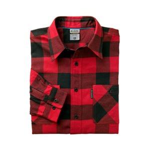 Columbia(コロンビア) ハイブリッジシャツ M 610(Intense Red)