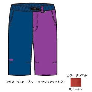 THE NORTH FACE(ザ・ノースフェイス) COTTON OX 3/4 PANT KID's 150 R(レッド)
