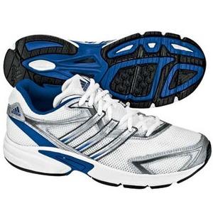 adidas(アディダス) オプティクK 21.0cm ランニングW×メタリックS×ピュアブルーF09