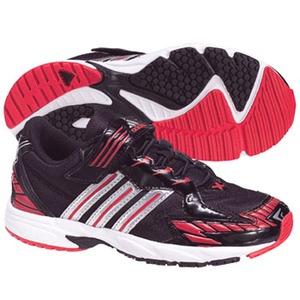 adidas(アディダス) スピードフット II Shiny CF Kid's 25.0cm ブラック×メタリックシルバー×レッドS09