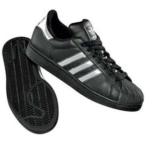 adidas(アディダス) SS II BLING 25.5cm ブラック×ホワイト×メタリックシルバー