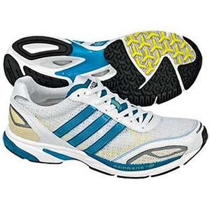 adidas(アディダス) アディゼロ CS5 Women's 25.5cm ランニングW×ターコイズ×ネオンYS09
