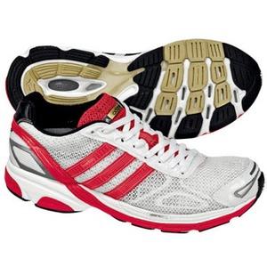 adidas(アディダス) アディゼロ Boston Women's 25.5cm ランニングホワイト×アートレッドF09×ブラック