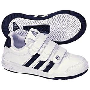 adidas(アディダス) ハイパートレーナー CF Kid's 24.0cm ランニングW×ニューN×メタリックS