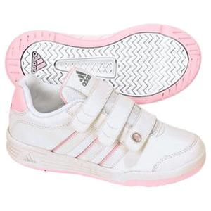 adidas(アディダス) ハイパートレーナー CF Kid's 23.5cm ランニングW×ニューN×メタリックS