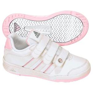 adidas(アディダス) ハイパートレーナー CF Kid's 24.5cm ランニングW×ニューN×メタリックS
