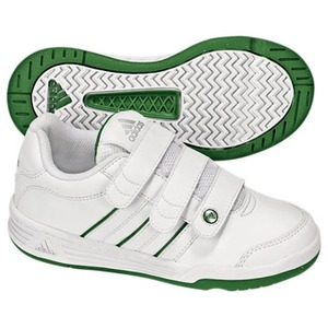 adidas(アディダス) ハイパートレーナー CF Kid's 24.5cm ランニングW×ピュアGF09×メタリックS