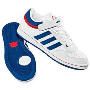 adidas(アディダス) CONCORD LO 24.5cm ランニングホワイト×ランニングホワイト×ブルー