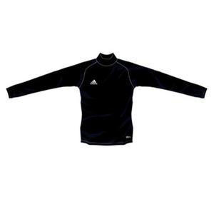 adidas(アディダス) インナーシャツ ハイネック ストレッチ L/S L 444028(ブラック)
