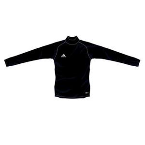 adidas(アディダス) インナーシャツ ハイネック ストレッチ L/S XO 444028(ブラック)
