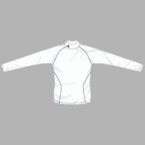 adidas(アディダス) インナーシャツ ハイネックL/S HEATLIVE2 L P29710(ホワイト)