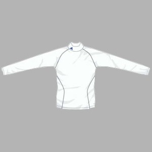 adidas(アディダス) インナーシャツ ハイネックL/S HEATLIVE2 O P29710(ホワイト)