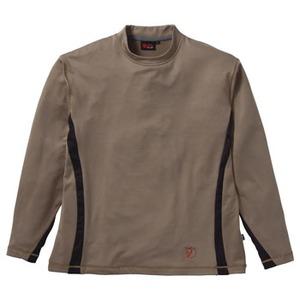 FJALL RAVEN(フェールラーベン) グリツドスキンロングTシャツ M 40(ライトブラウン)