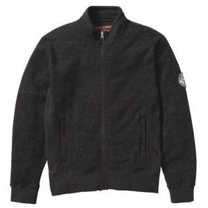 FJALL RAVEN(フェールラーベン) リブニットスウェットジャケット L 02(ミックスチャコール)