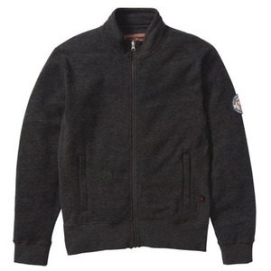FJALL RAVEN(フェールラーベン) リブニットスウェットジャケット LL 02(ミックスチャコール)