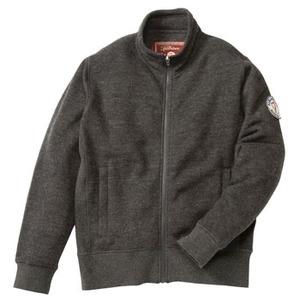 FJALL RAVEN(フェールラーベン) リブニットレディーススウェットジャケット L 02(ミックスチャコール)
