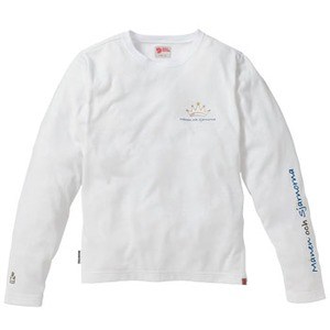 FJALL RAVEN(フェールラーベン) FR6996L PPSUレディースロングシャツ S 10(ホワイト)