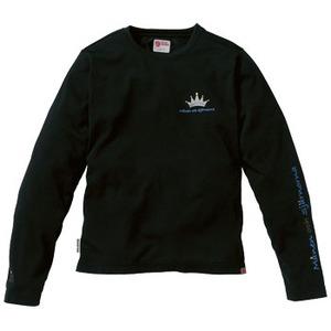 FJALL RAVEN(フェールラーベン) FR6996L PPSUレディースロングシャツ S 90(ブラック)