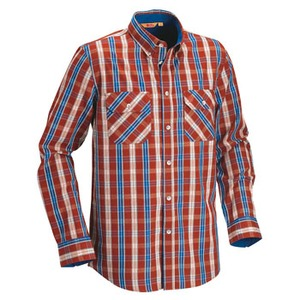 FJALL RAVEN(フェールラーベン) OWL SHIRT LL 317(Aurora Red)