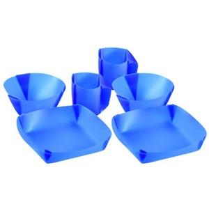 FlatableWare(フラッタブルウェア) ディナーセット BLUE