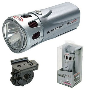 GIZA(ギザ) iLUMENOX SS-L 132W ヘッドライト シルバー