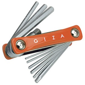 GIZA(ギザ) 10機能 フォールディング ツール オレンジ