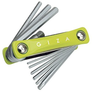 GIZA(ギザ) 10機能 フォールディング ツール グリーン