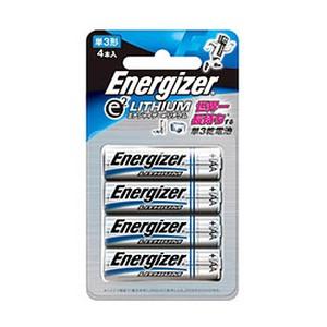 Energizer(エナジャイザー) リチウム乾電池単三 4本入