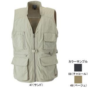 ミズノ(MIZUNO) マルチポケットベスト Men's M 49(ベージュ)
