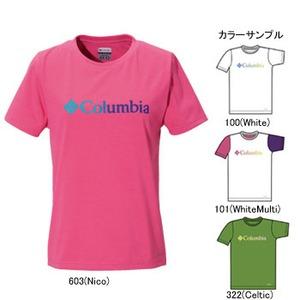 Columbia(コロンビア) ウィメンズ キャリーTシャツ L 101(WhiteMulti)