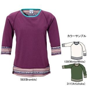 Columbia(コロンビア) ウィメンズ ディース3/4Tシャツ L 139(WinterWhite)