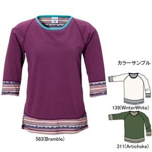 Columbia(コロンビア) ウィメンズ ディース3/4Tシャツ XL 139(WinterWhite)