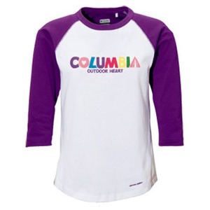 Columbia(コロンビア) ウィメンズ レトロパワー3/4Tシャツ L 534(Regal)