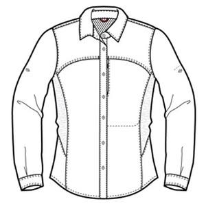 Columbia(コロンビア) ウィメンズ シルバーリッジストレッチロングスリーブシャツ L 100(White)