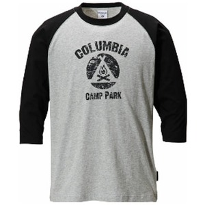 Columbia(コロンビア) キャンプファイヤー3/4Tシャツ L 010(Black)