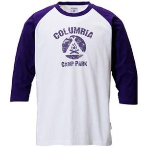 Columbia(コロンビア) キャンプファイヤー3/4Tシャツ L 559(UWPurple)