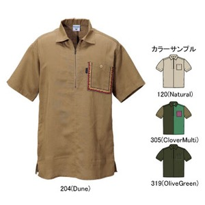Columbia(コロンビア) ディースハーフジップシャツ XL 120(Natural)
